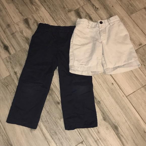Gymboree Other - Boys uniform pants & shorts size 4t lot of 2